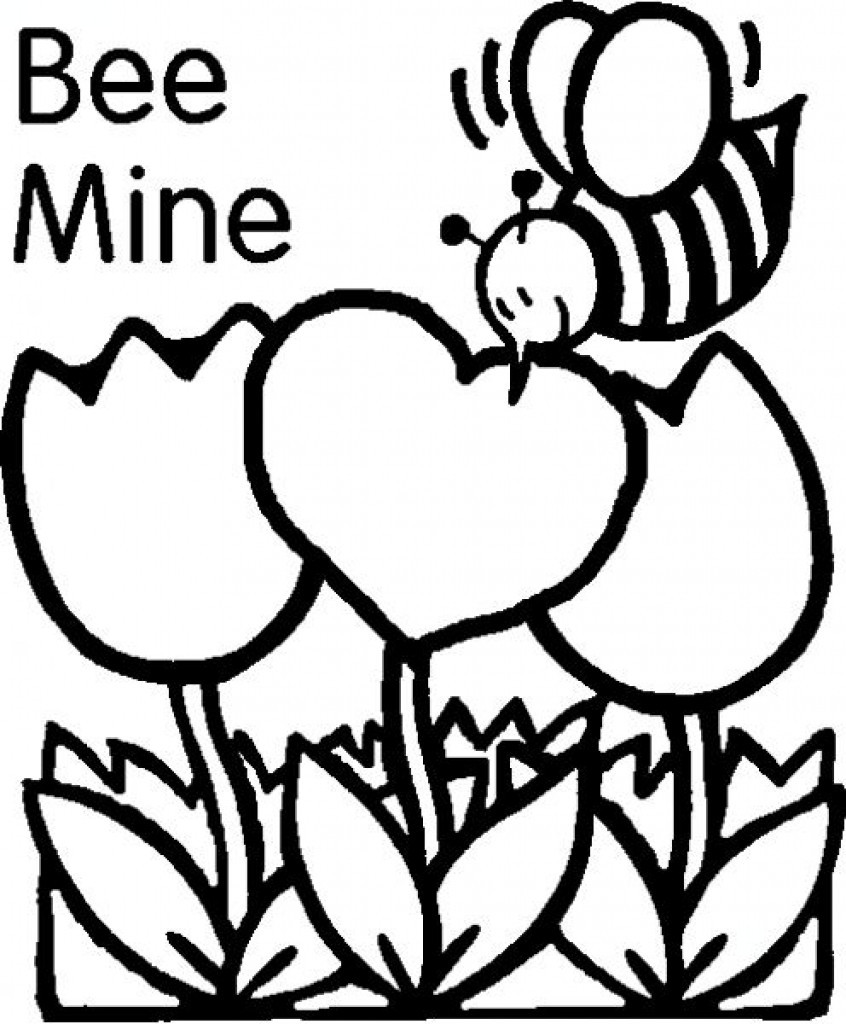 Valentine Coloring Sheets Free  Free Printables Valentines Day Coloring Pages Valentine