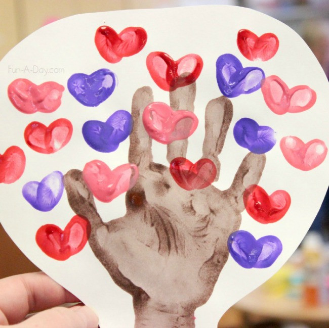 Valentine Craft Ideas For Preschoolers  Beautiful and Playful Valentine s Day Crafts for