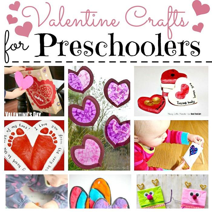 Valentine Craft Ideas For Preschoolers  Valentine Crafts for Preschoolers Red Ted Art s Blog