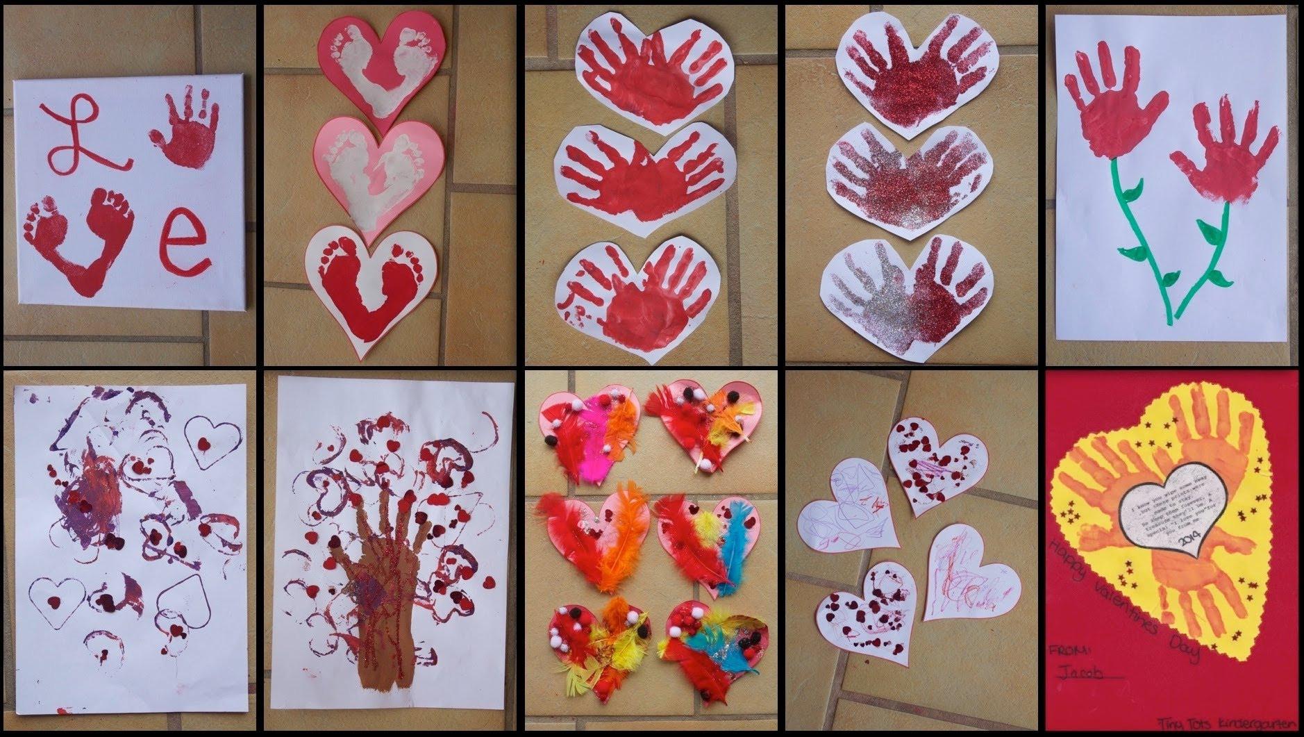 Valentine Craft Ideas For Preschoolers  9 VALENTINE'S DAY CRAFTS FOR TODDLERS KIDS
