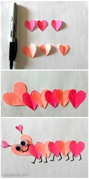 Valentine Craft Ideas For Preschoolers  Valentine Easy Crafts Kids & Preschool Crafts