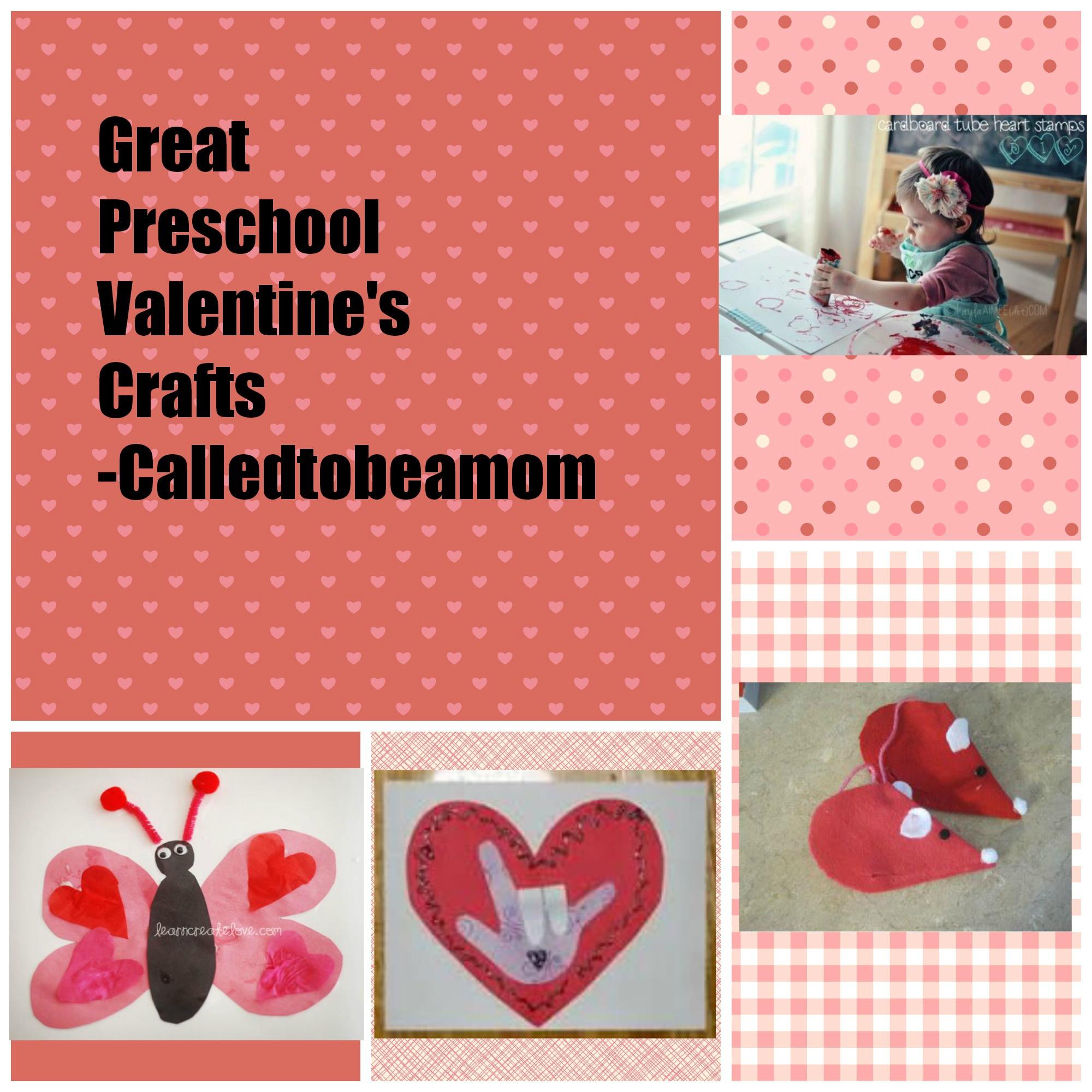 Valentine Craft Preschoolers  Preschool Valentine s Crafts CalledToBeAMom