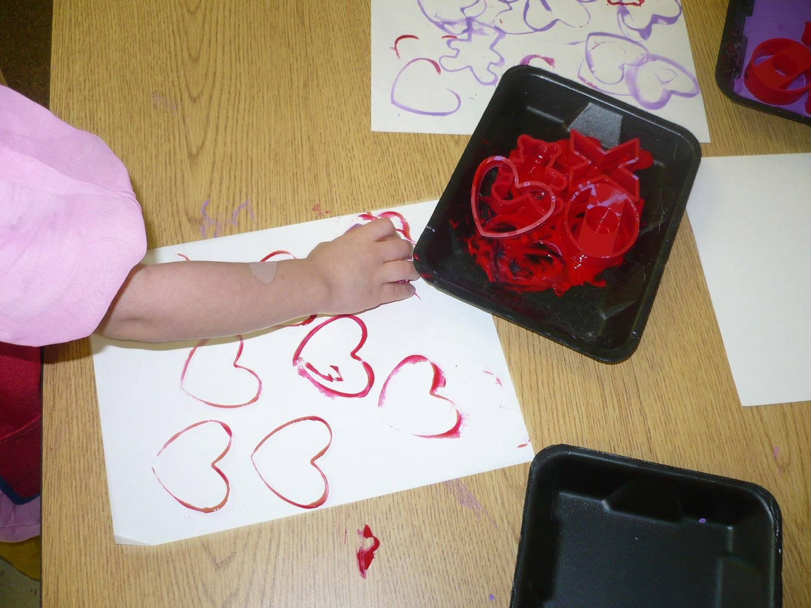Valentine Craft Preschoolers  Valentine Art Preschool