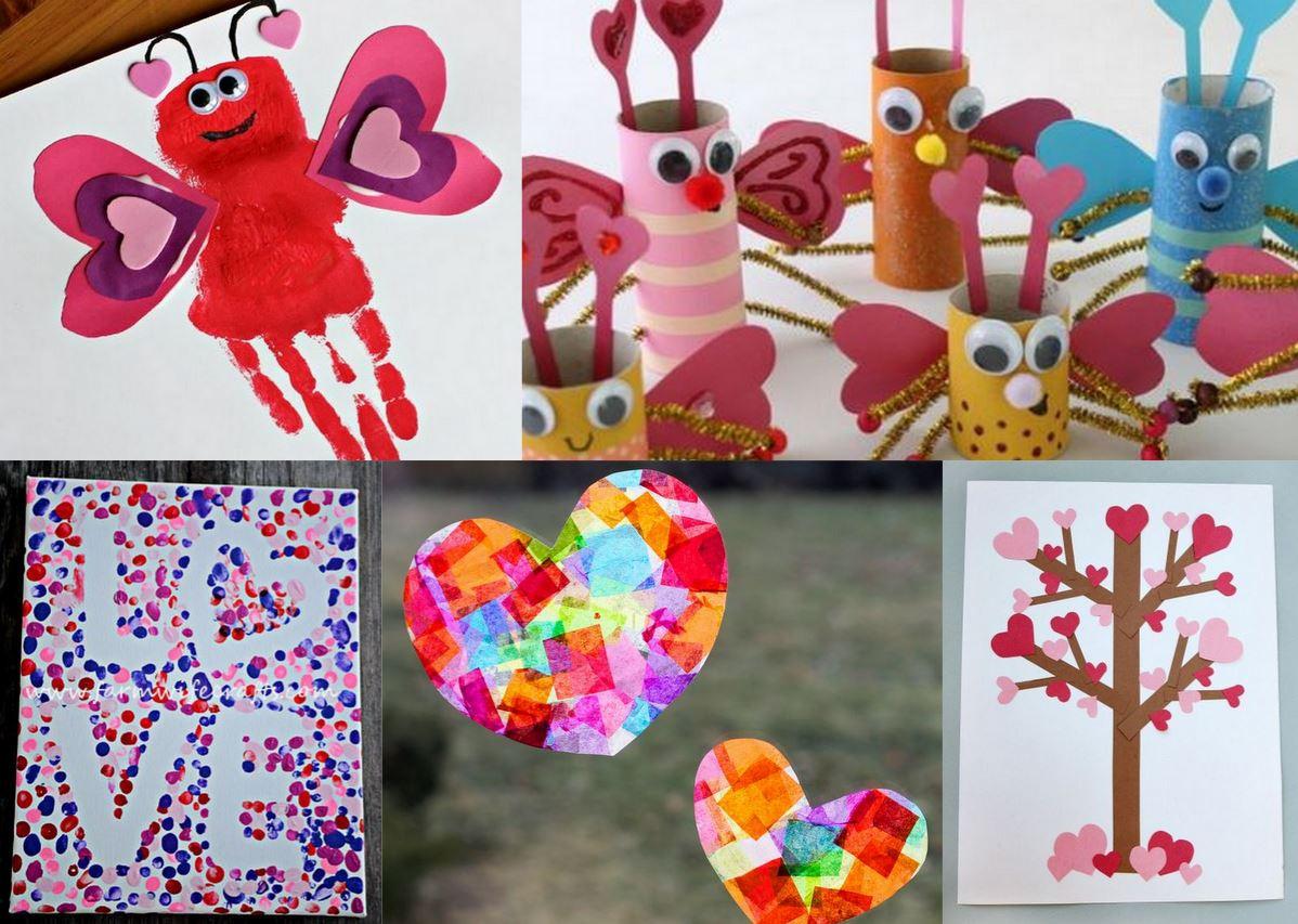 Valentine Craft Preschoolers  25 Adorable Valentine s Day Craft Ideas for Preschoolers