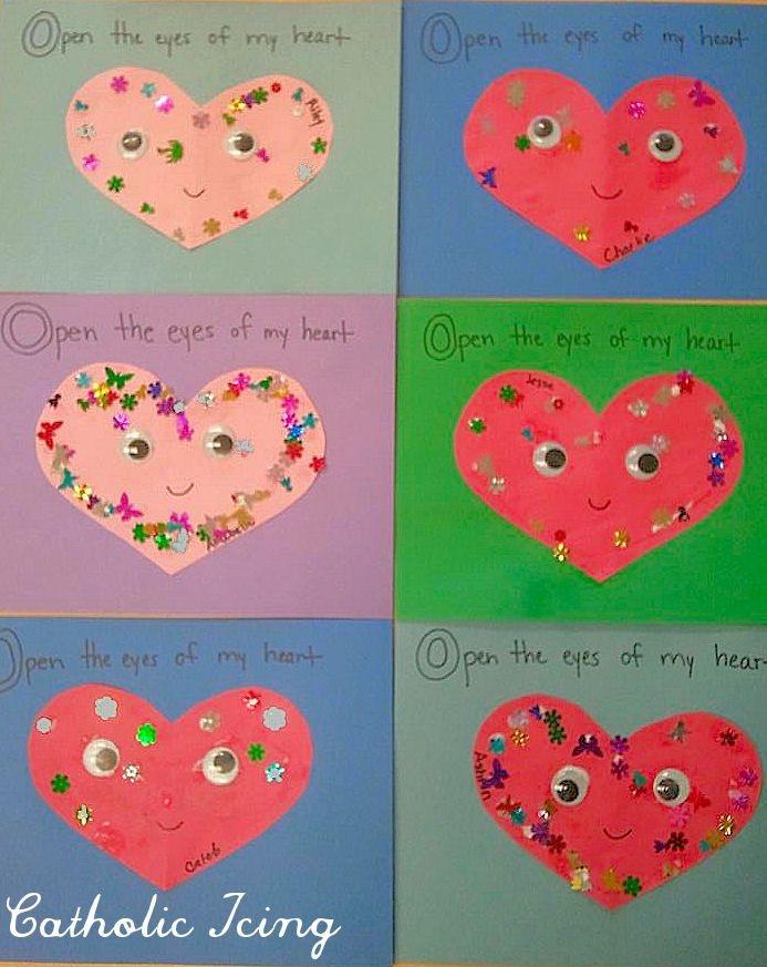 Valentine Craft Preschoolers  Valentine Crafts For Pre K Kids & Preschool Crafts