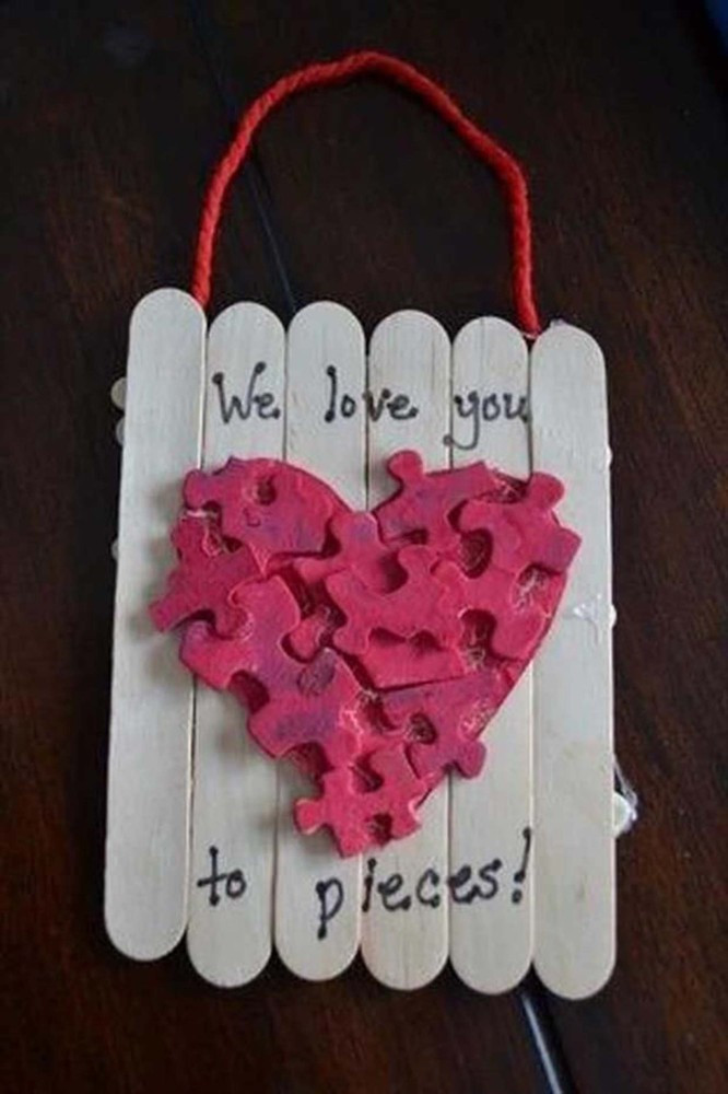 Best ideas about Valentine Crafts For Preschoolers Pinterest . Save or Pin 23 Easy Valentine s Day Crafts That Require No Special Now.