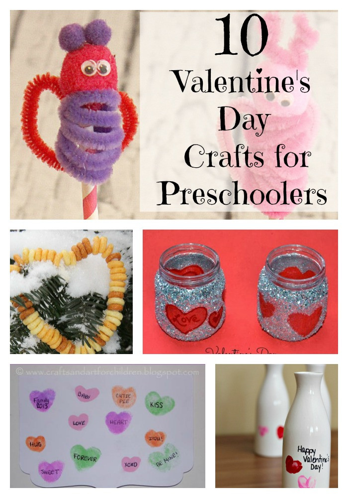 Best ideas about Valentine Crafts For Preschoolers Pinterest . Save or Pin Valentine s Day Crafts for Preschoolers My Kids Guide Now.