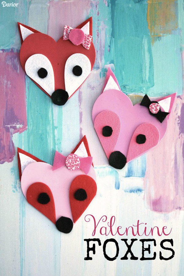 Best ideas about Valentine Crafts For Preschoolers Pinterest . Save or Pin 10 Easy Valentine Crafts for Kids DIY Projects to Try Now.