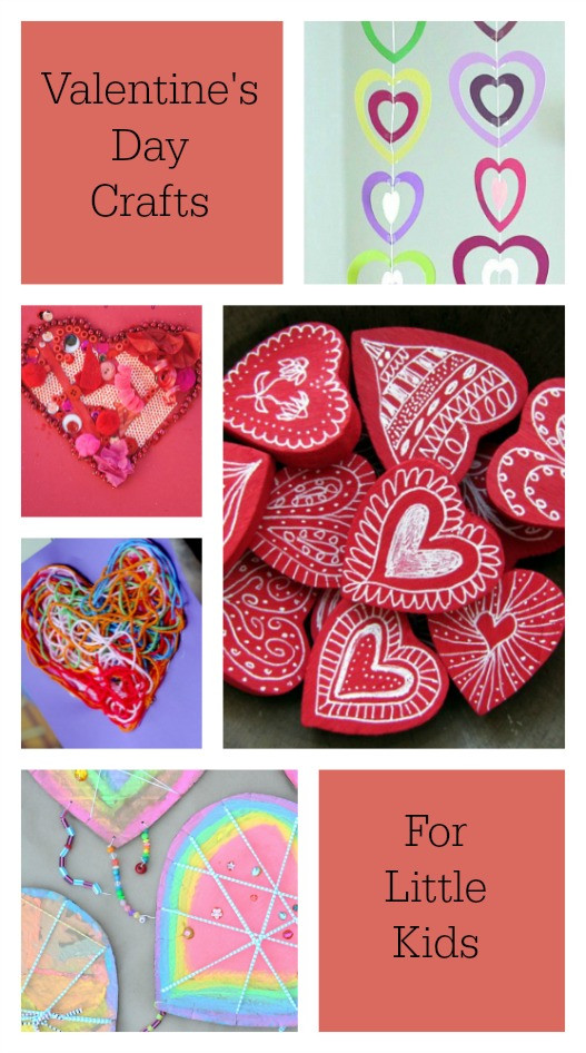 Best ideas about Valentine Crafts For Preschoolers Pinterest . Save or Pin Beautiful and Playful Valentine s Day Crafts for Now.