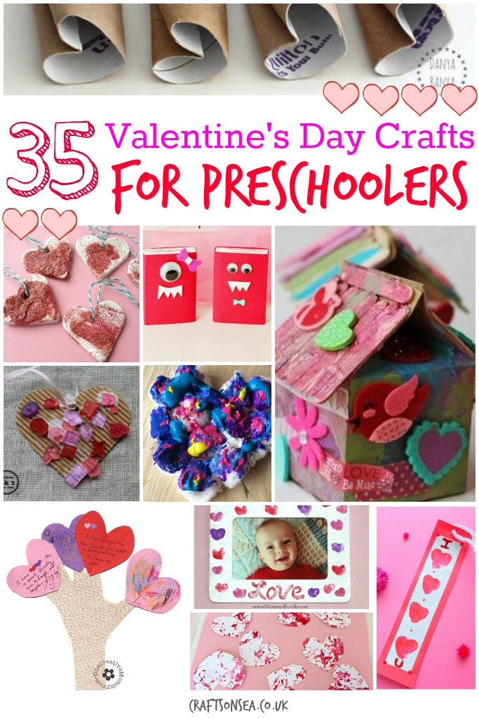 Best ideas about Valentine Crafts For Preschoolers To Make . Save or Pin Valentines Day Crafts for Preschoolers Crafts on Sea Now.
