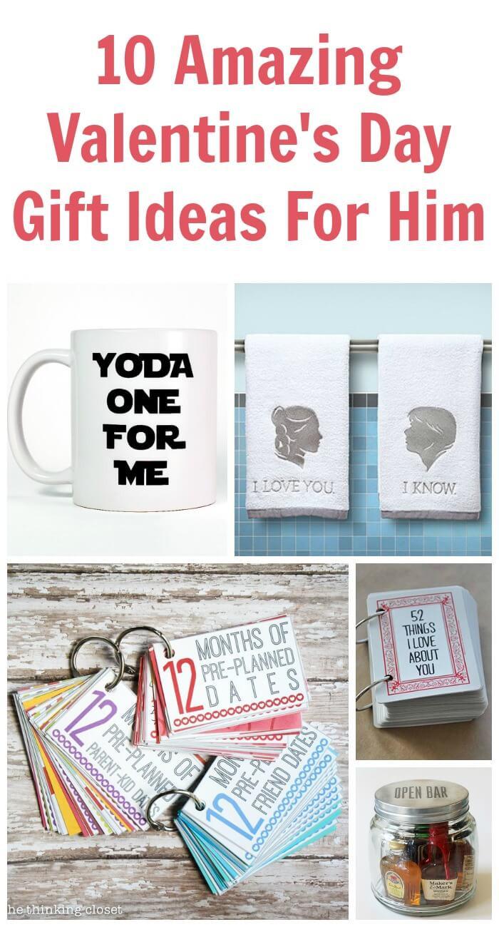 Valentine Day Gift Ideas Him  10 Amazing Valentine s Day Gift Ideas for Him
