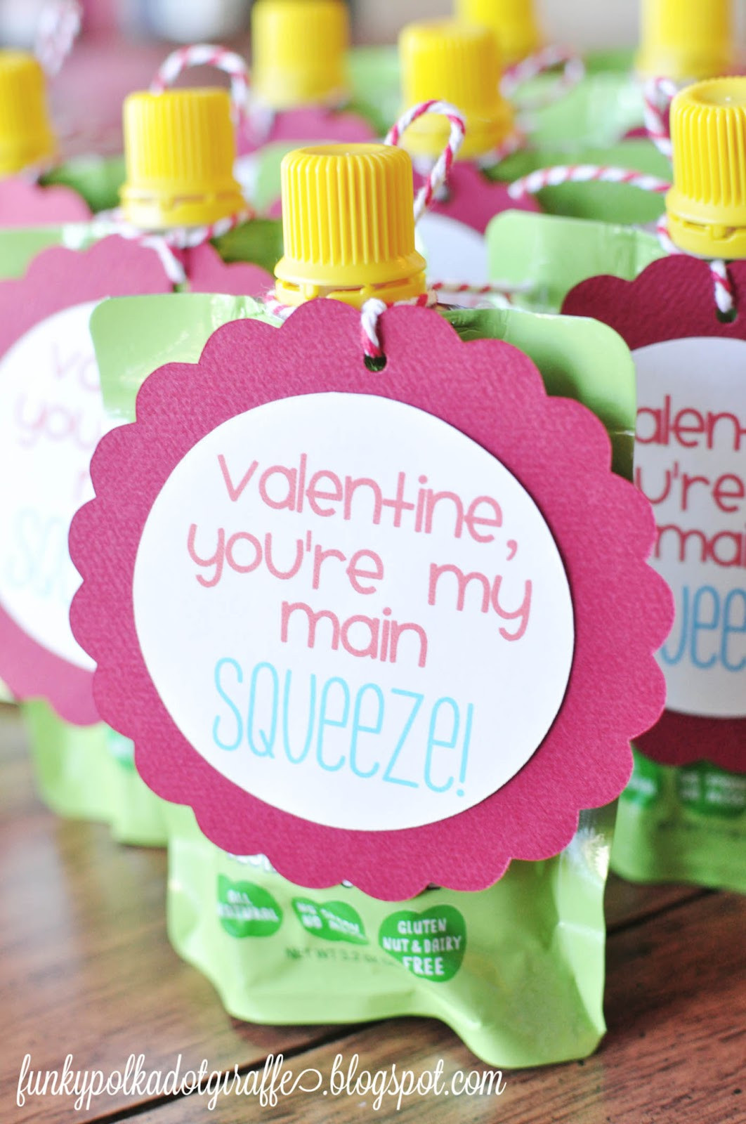 Valentine Gift Ideas For Kids  Funky Polkadot Giraffe Preschool Valentines You re My