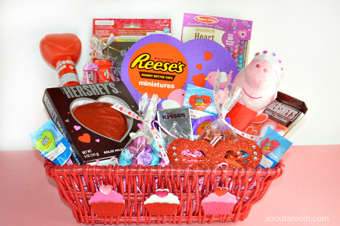 Valentine Gift Ideas For Kids  Valentine s Day Basket Ideas for Kids About A Mom