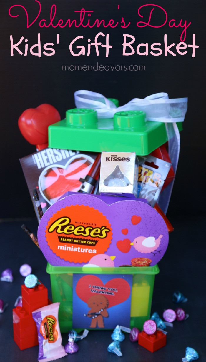 Valentine Gift Ideas For Kids  Fun Valentine's Day Gift Basket for Kids
