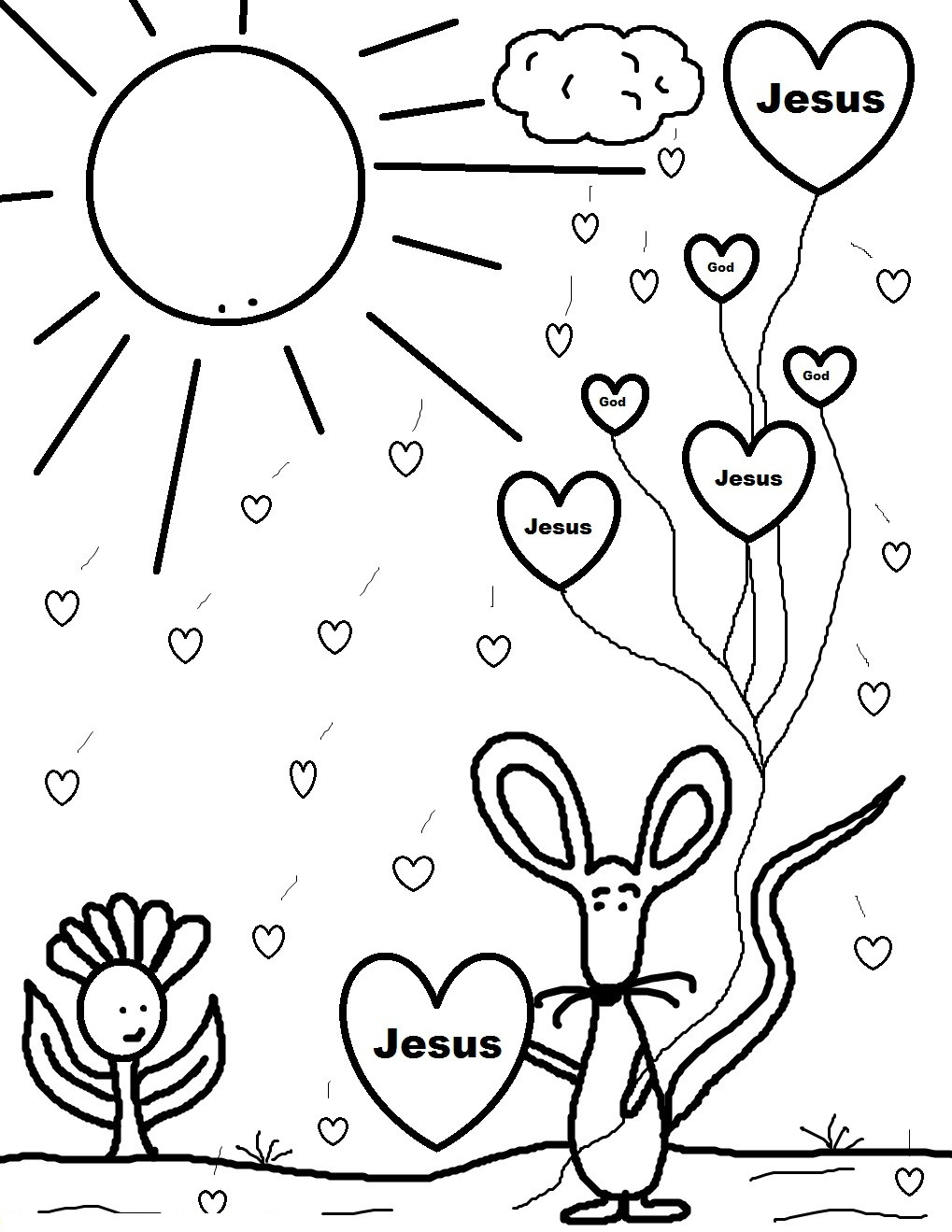 Valentine'S Day Coloring Pages For Kids  Free Printable Valentine Coloring Pages For Kids