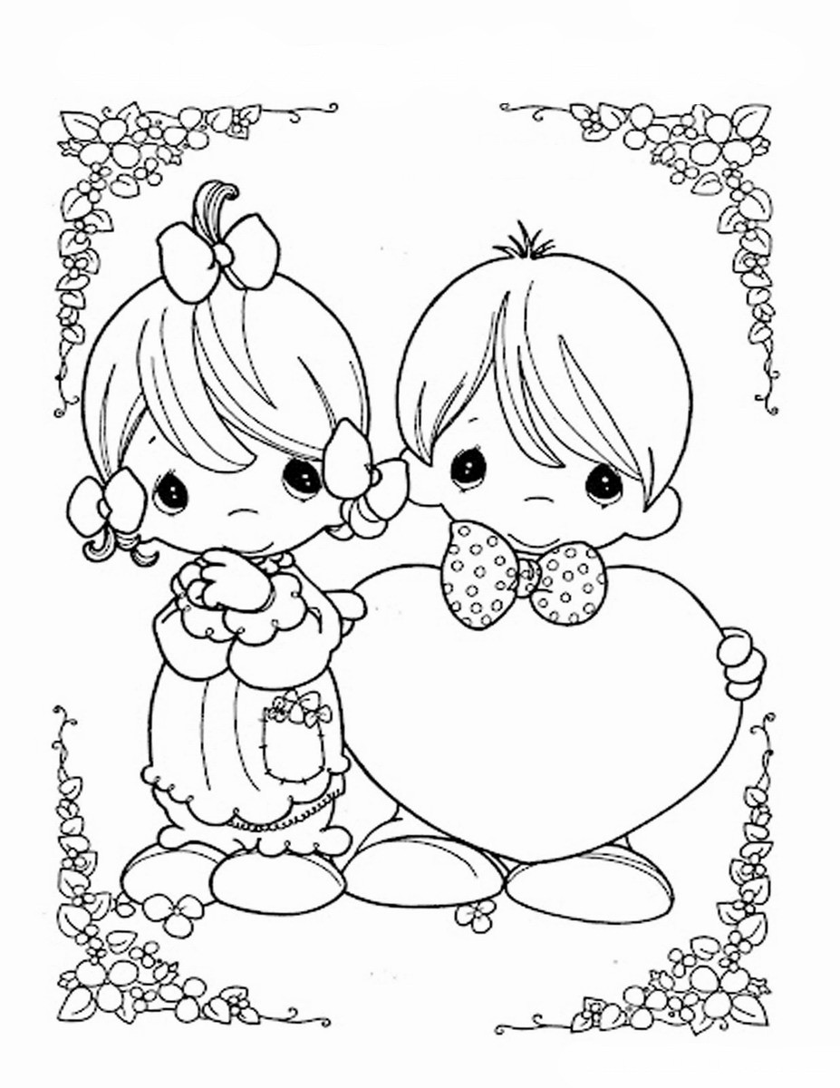 Valentine'S Day Coloring Pages Printable  Valentine's Day Coloring Pages