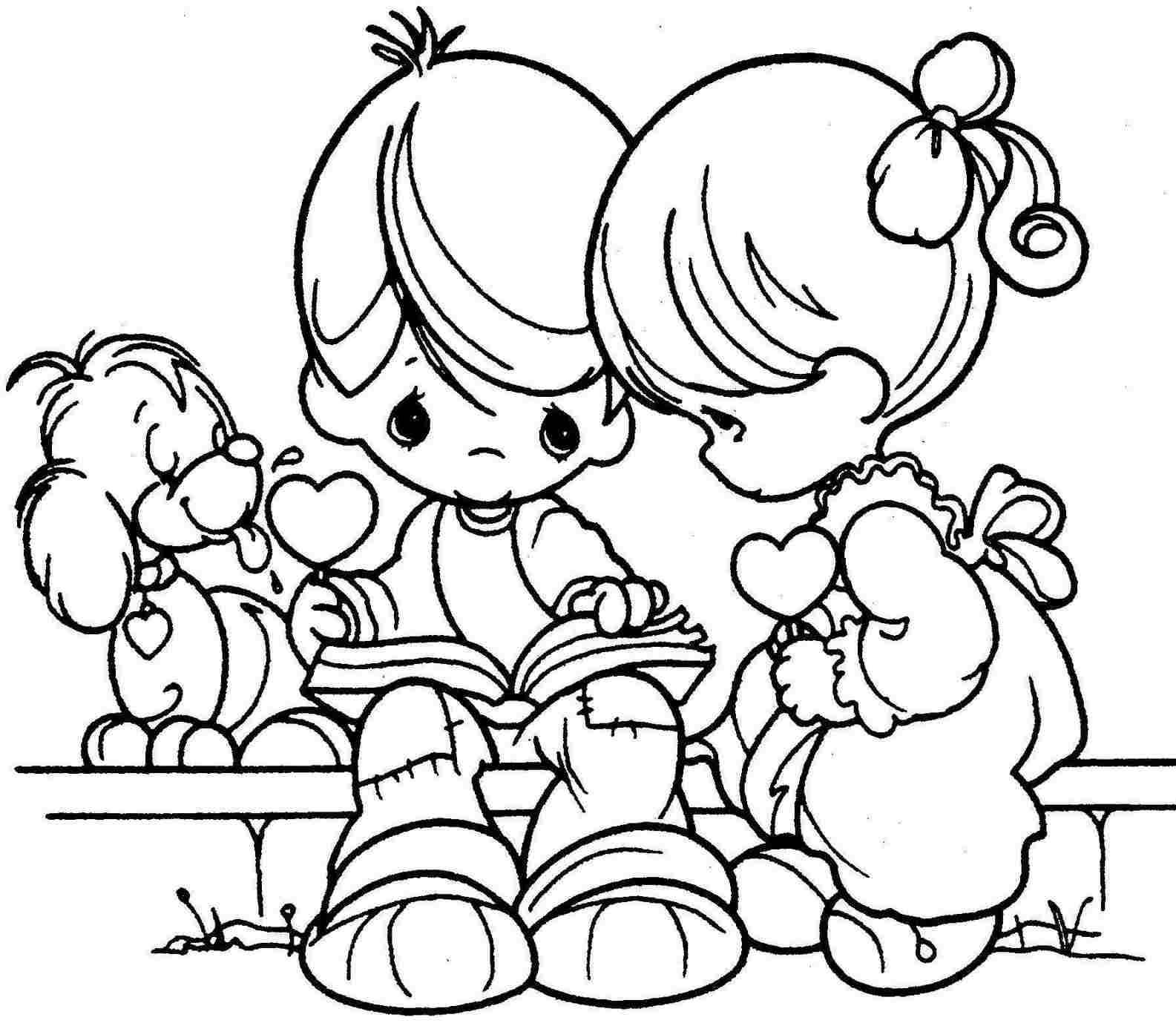 Valentine'S Day Coloring Pages Printable  Best of Valentines Day Coloring Pages Bestofcoloring