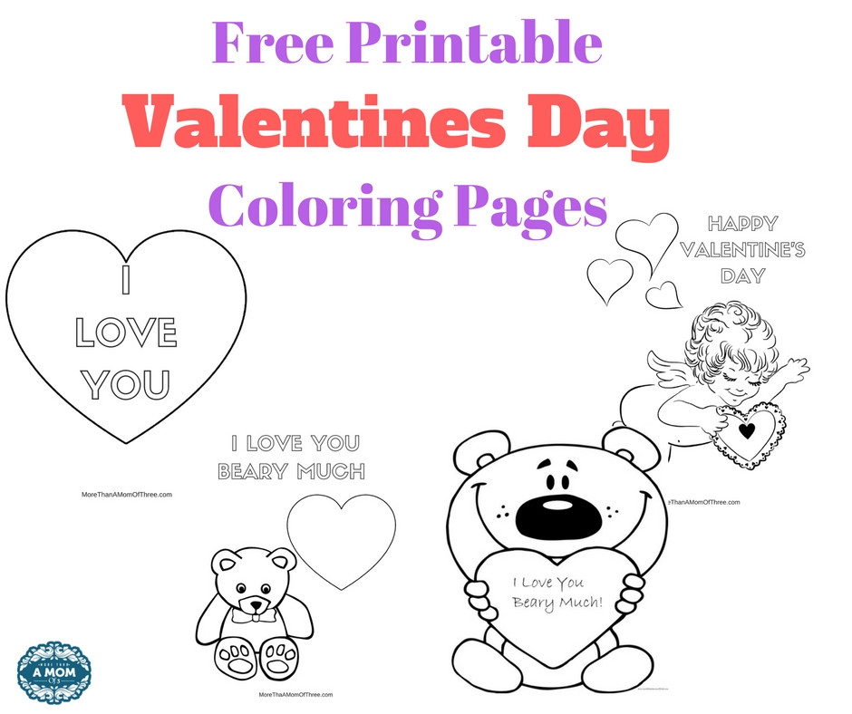 Valentine'S Day Coloring Pages Printable  Free Valentines Day Coloring Pages Printables For Kids