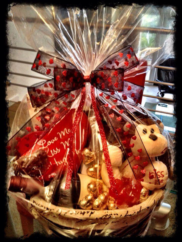 Best ideas about Valentine'S Day Gift Basket Ideas . Save or Pin 33 best valentine t basket images on Pinterest Now.