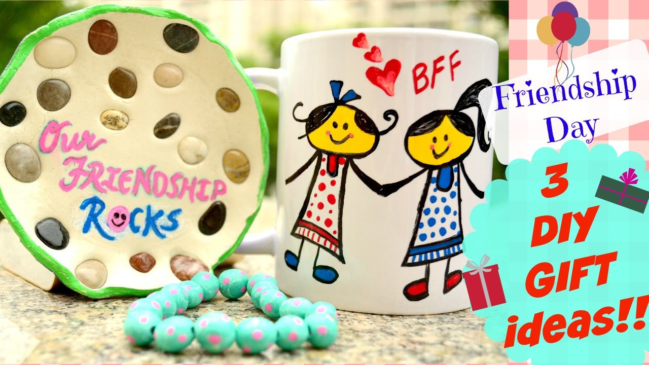 Valentine'S Day Gift Ideas For Friends  DIY 3 friendship day handmade t ideas