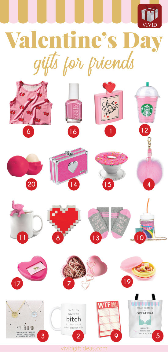 Valentine'S Day Gift Ideas For Friends  This Valentine s Day Shower Your Best Friends with These