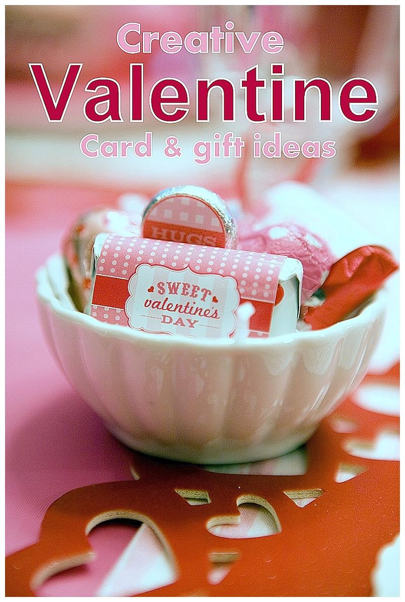 Valentines Creative Gift Ideas  Creative Valentine Card & Gift Ideas