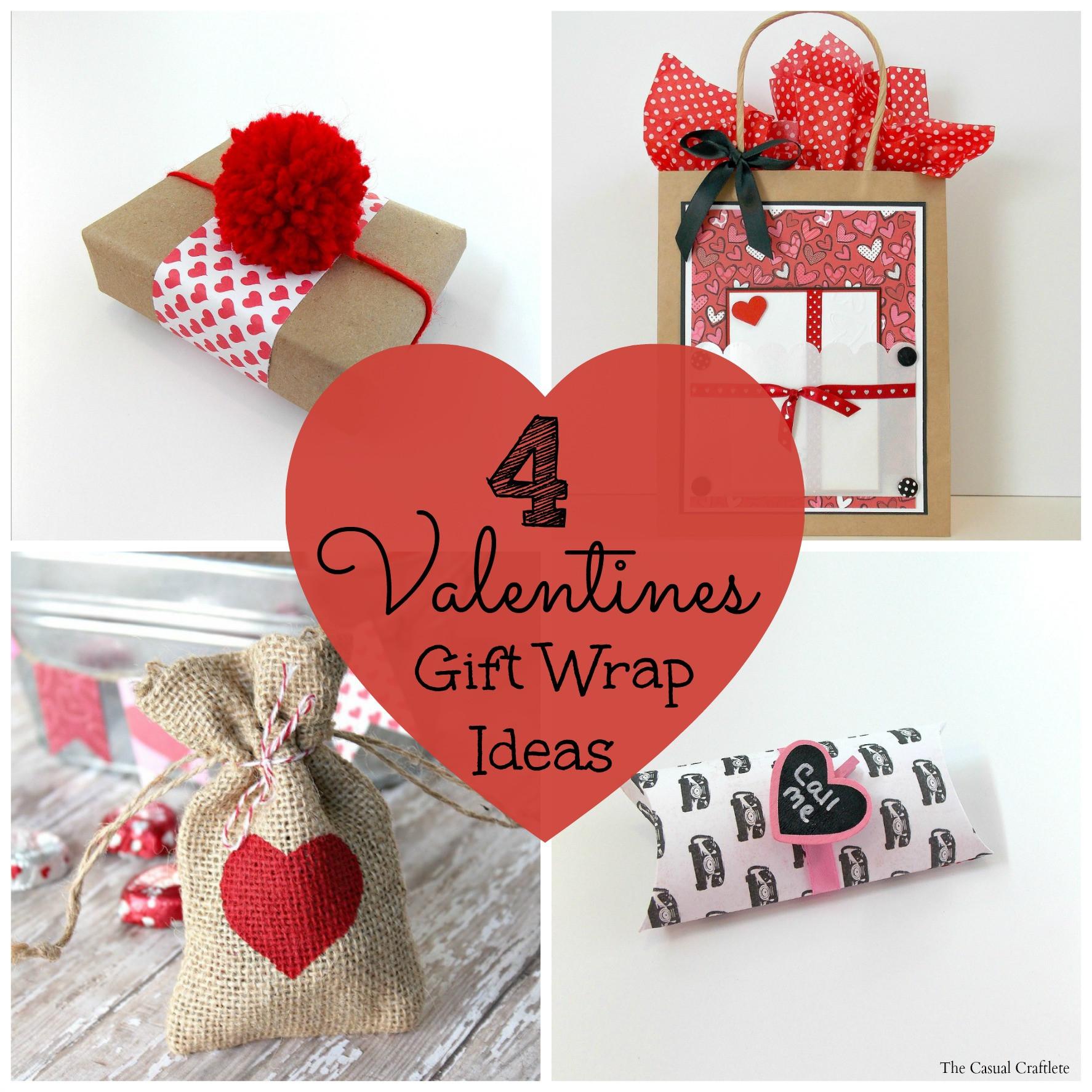 Valentines Creative Gift Ideas  4 Valentines Gift Wrap Ideas Purely Katie