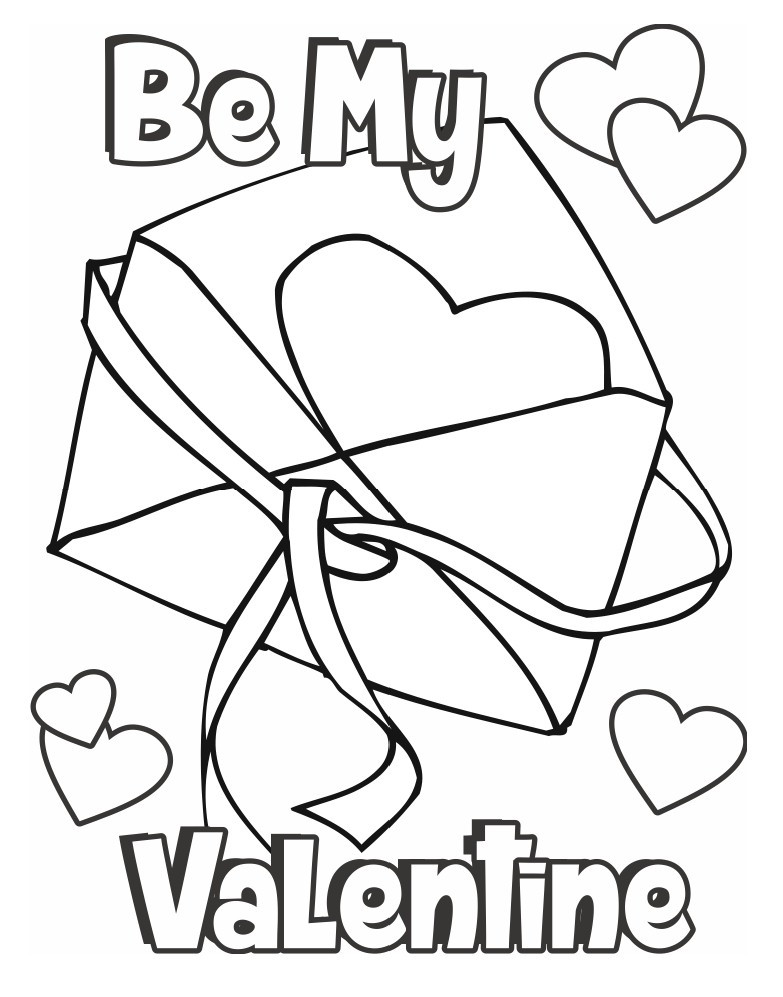 Valentines Day Coloring Pages Pdf  Valentine s Day Coloring Pages
