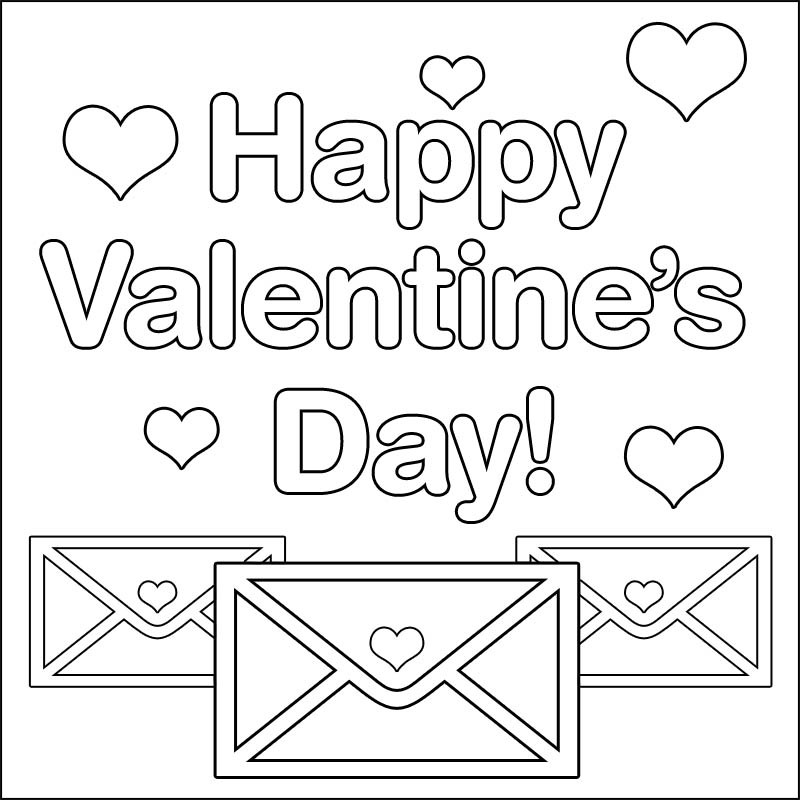 Valentines Day Coloring Pages Pdf  Valentine s Day Coloring Pages Disney Coloring Pages