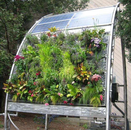 Best ideas about Vertical Hydroponic Garden . Save or Pin Deidre s vertical ve able garden Appropedia The Now.