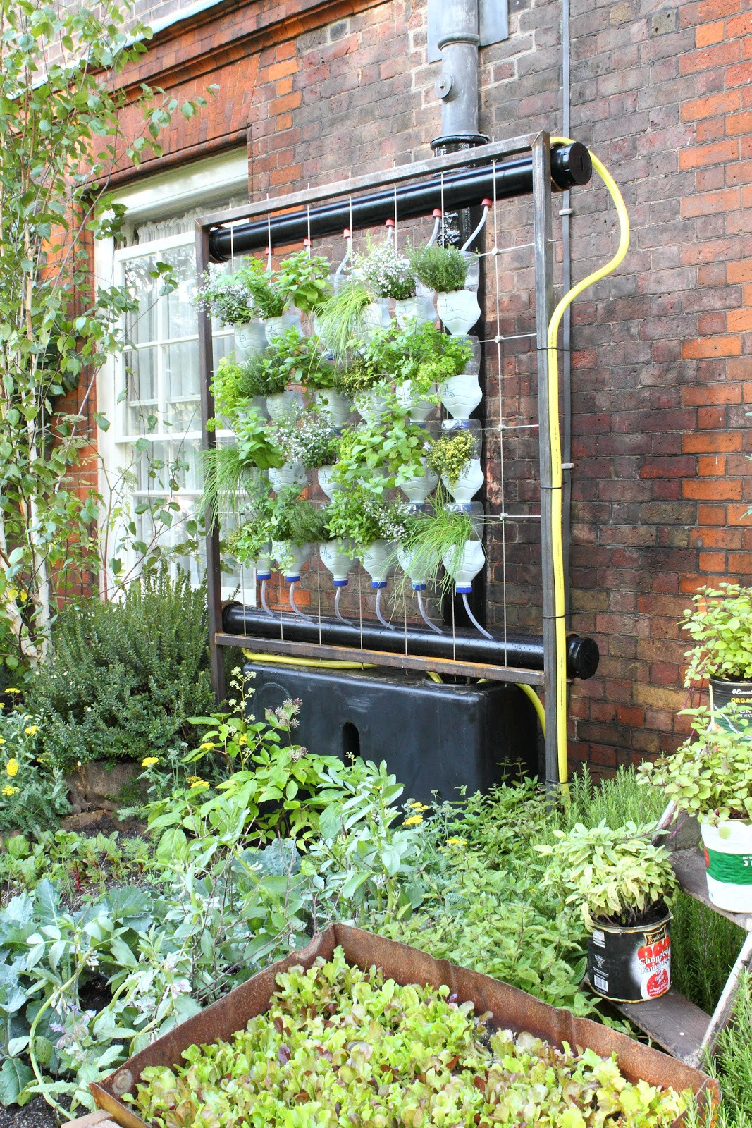 Best ideas about Vertical Hydroponic Garden . Save or Pin Deb s Dust Bunny Prince Charles Sustainable Garden Party Now.