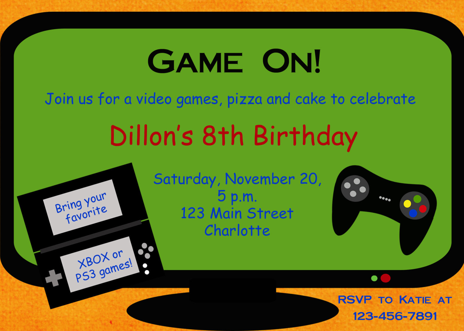 Best ideas about Video Game Birthday Invitations . Save or Pin video game party invitations Video Game Party Invitations Now.