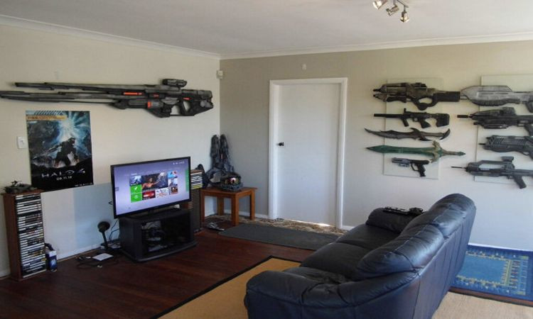 Best ideas about Video Game Room Ideas For Small Rooms . Save or Pin 21 Interesting Game Room Ideas Now.