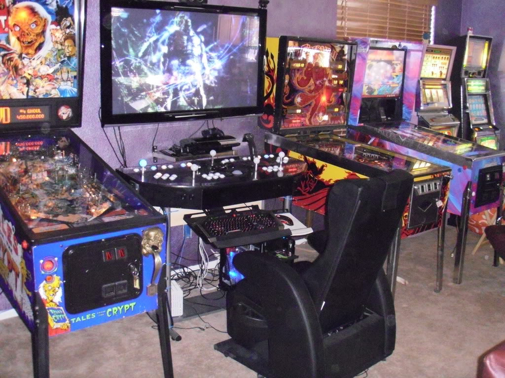 Best ideas about Video Game Room Ideas For Small Rooms . Save or Pin Gaming Room Ideas with All Furniture Decoration Amaza Design Now.