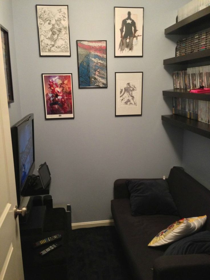 Best ideas about Video Game Room Ideas For Small Rooms . Save or Pin 25 best ideas about Small game rooms on Pinterest Now.