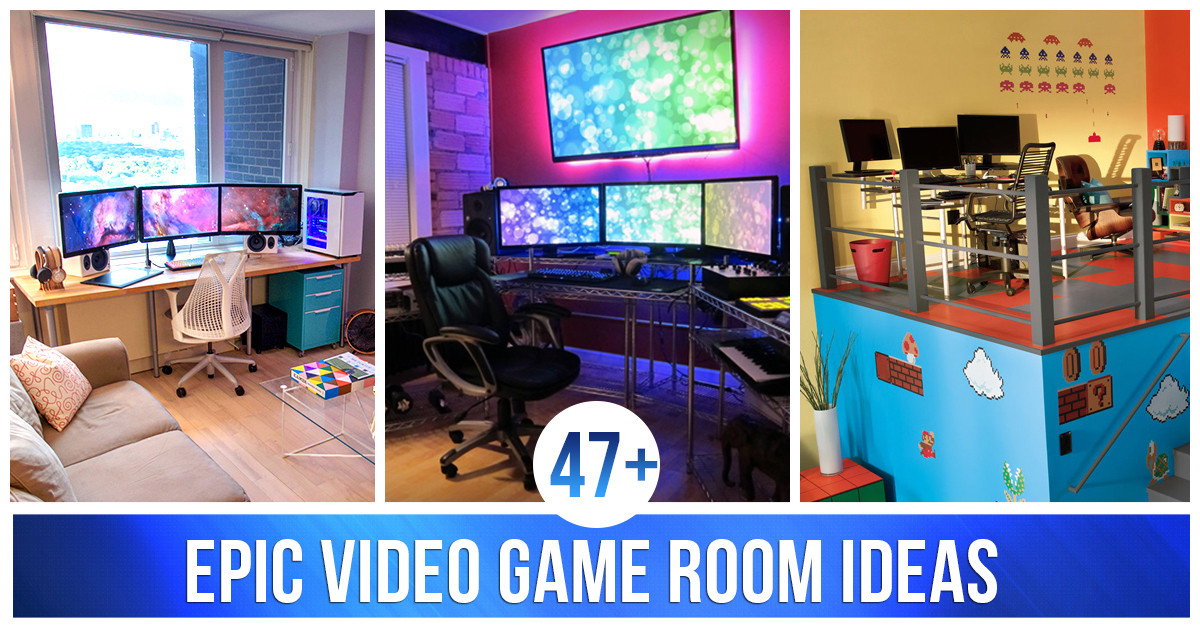 Best ideas about Video Game Room Ideas For Small Rooms . Save or Pin 47 Epic Video Game Room Decoration Ideas for 2019 Now.