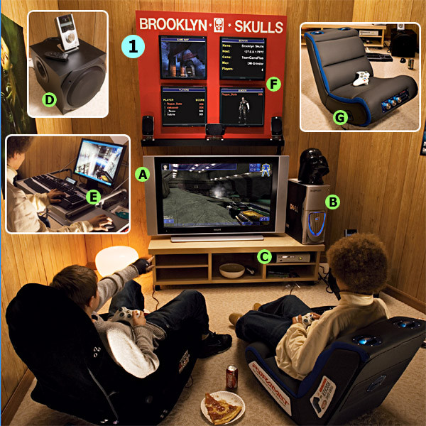 Best ideas about Video Game Room Ideas For Small Rooms . Save or Pin Favorites2 Design2 home decorating interior Now.