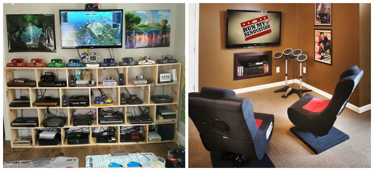 Best ideas about Video Game Room Ideas For Small Rooms . Save or Pin Games Room Ideas for the Average Home Frances Hunt Now.