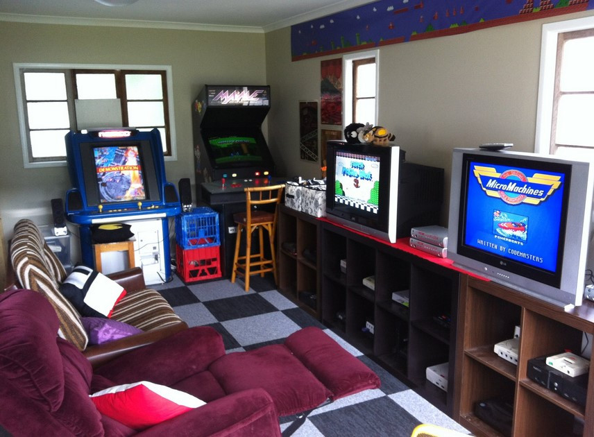 Best ideas about Video Game Room Ideas For Small Rooms . Save or Pin 15 Funtastic Game Room Ideas For Kids and Familly Spenc Now.
