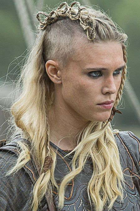 Viking Hairstyle Female  117 best People série images on Pinterest