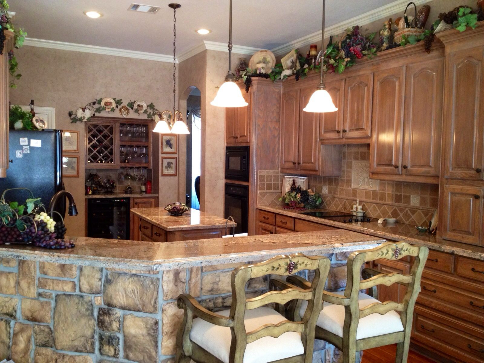 Best ideas about Vineyard Kitchen Decor . Save or Pin wine decorations for kitchen – Roselawnlutheran Now.