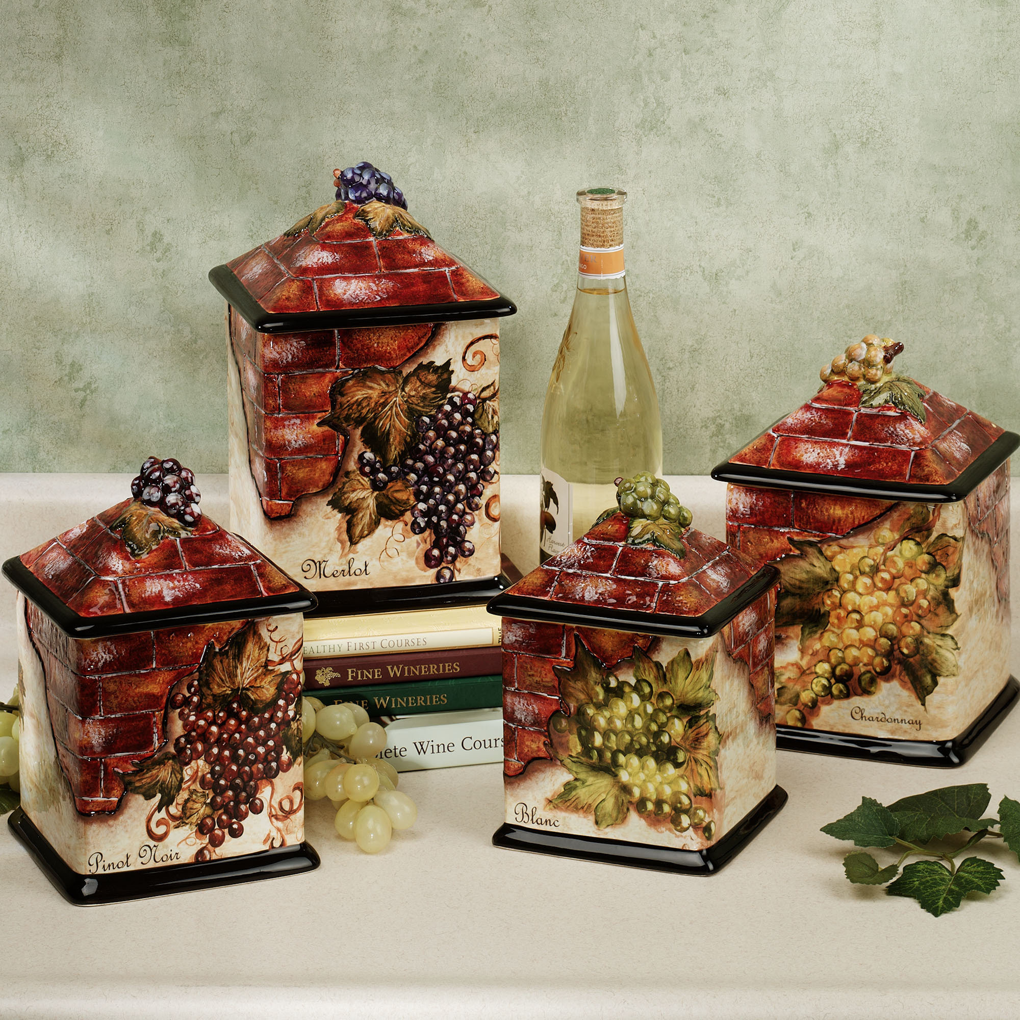 Best ideas about Vineyard Kitchen Decor . Save or Pin Awesome Furniture Wine kitchen decor sets with Now.