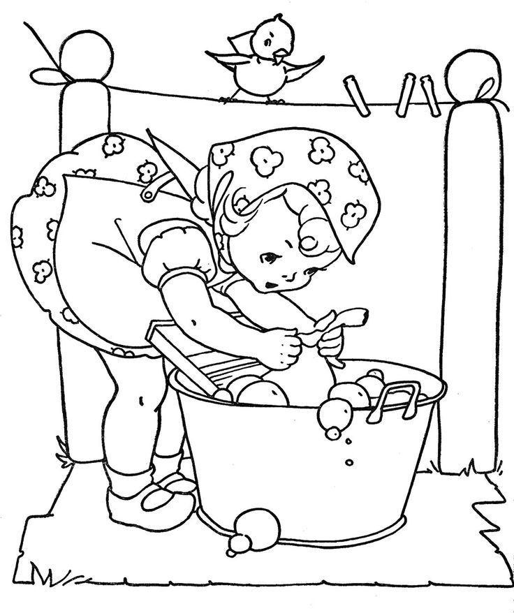 Vintage Coloring Book Pages  Vintage Coloring Book Pages Coloring Home