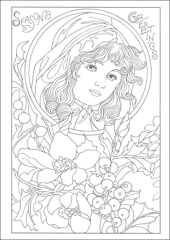 Vintage Coloring Book Pages  Vintage Coloring Pages The Style and Fashion Gianfreda