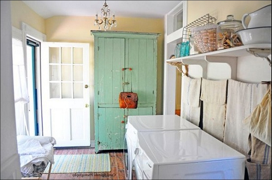 Best ideas about Vintage Laundry Room Decor . Save or Pin Best Vintage Laundry Room Ideas Bee Home Plan Now.
