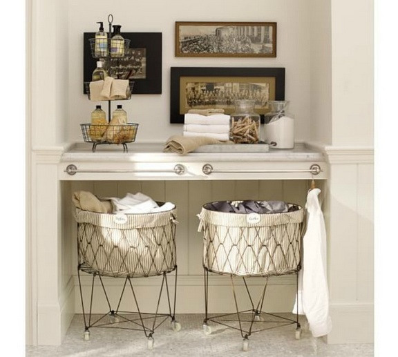 Best ideas about Vintage Laundry Room Decor . Save or Pin Vintage laundry room decor with vintage laundry hampers Now.