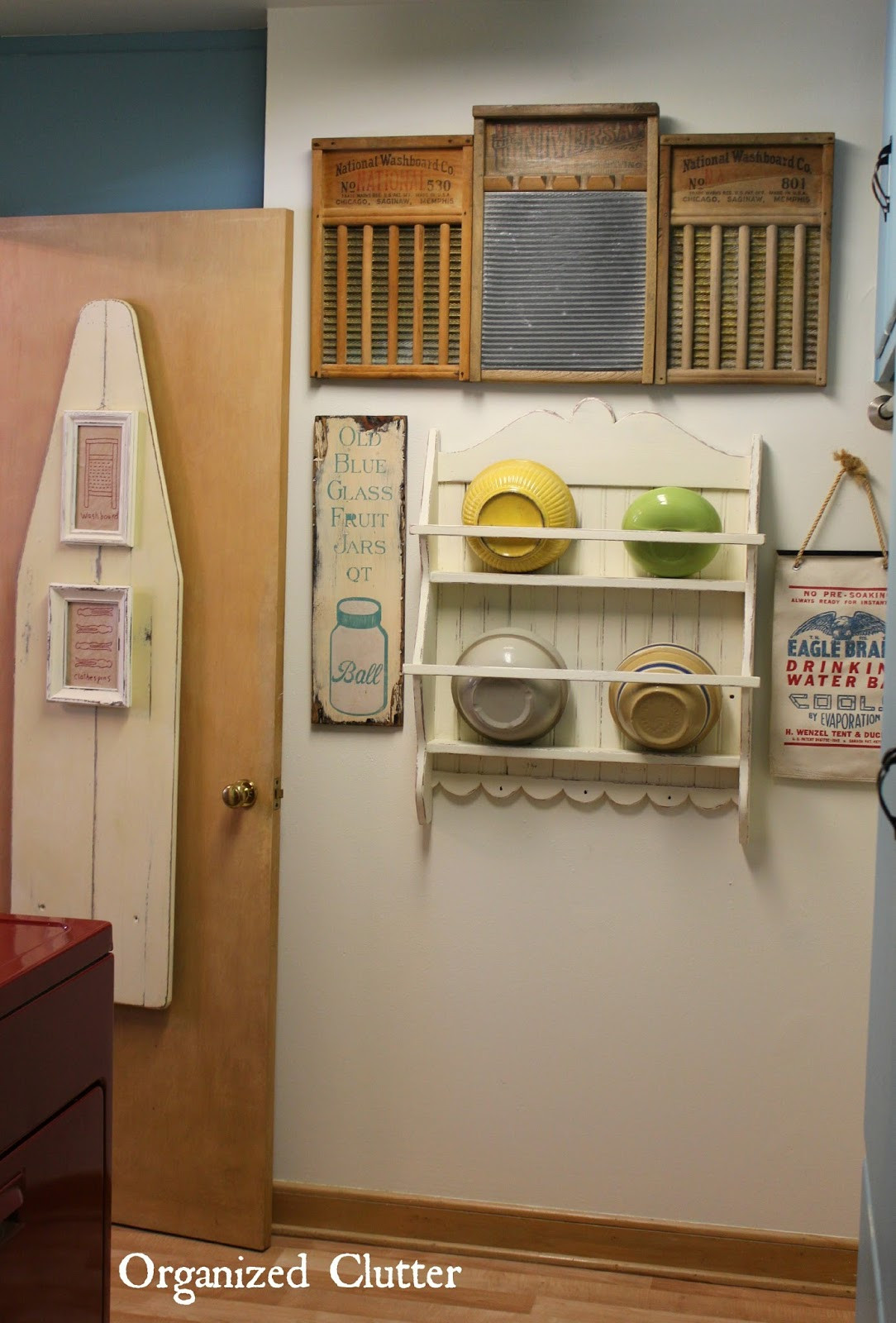 Best ideas about Vintage Laundry Room Decor . Save or Pin Vintage Laundry Room Mini Makeover Now.