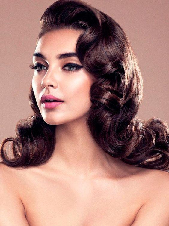 Vintage Updo Hairstyle  Vintage Romantic Bridal Hairstyles