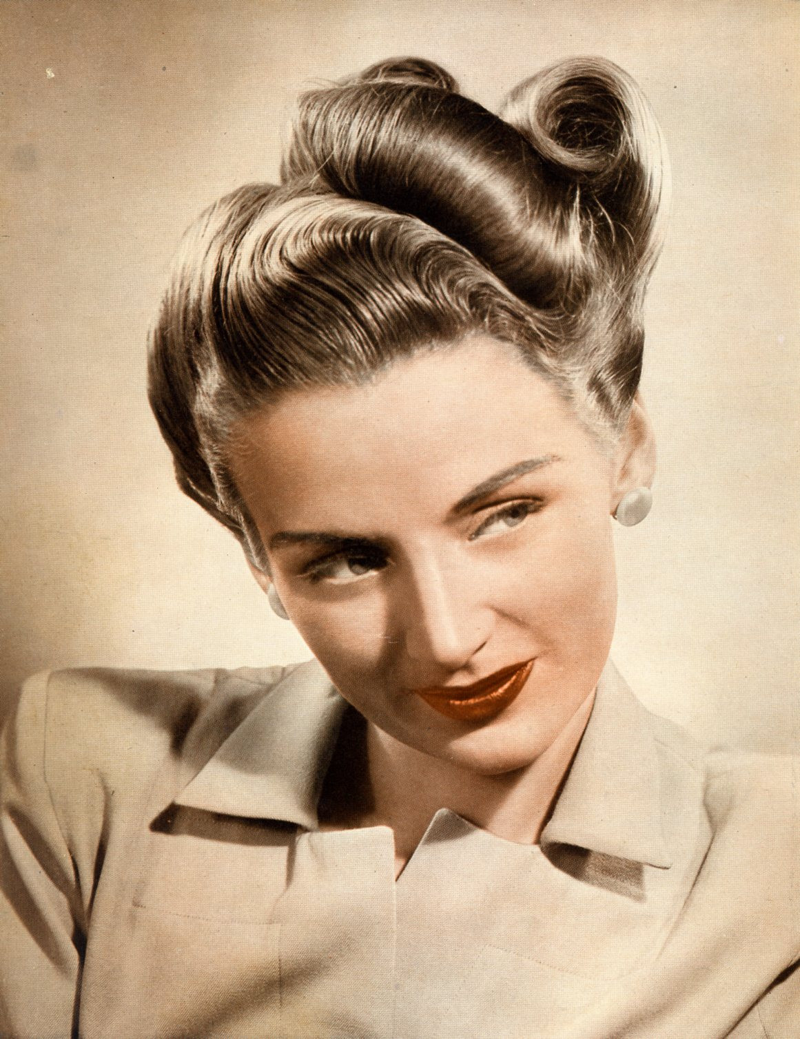 Vintage Updo Hairstyle  20 Vintage Hairstyles for Long Hair in 2016 MagMent
