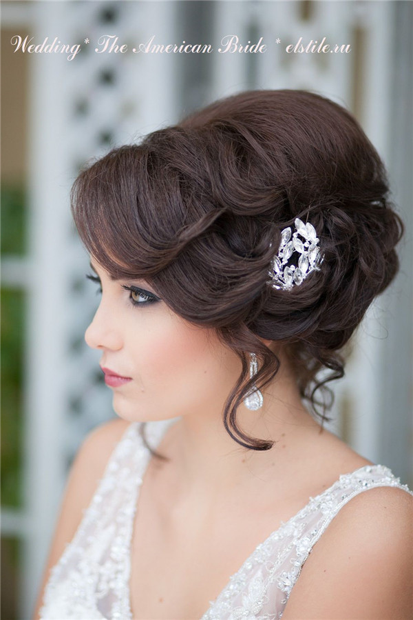 Vintage Updo Hairstyle  21 Inspirational Vintage Retro Wedding Hairstyles